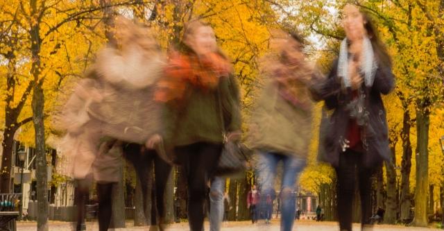 Aphantasia blurry women
