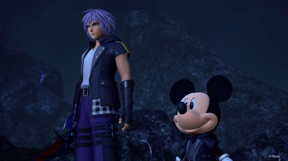 Kingdom Hearts III Riku Mickey