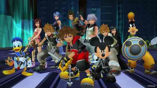 Kingdom Hearts III Riku Sora Mickey Gang