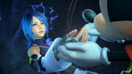 Kingdom Hearts III Aqua Mickey
