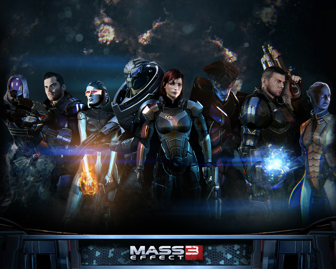 Mass Effect 3 FemShep