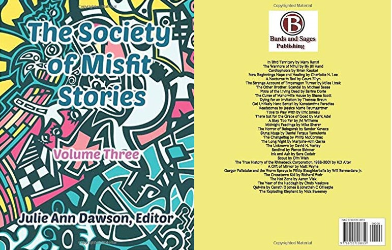 Society of Misfit Stories Cover